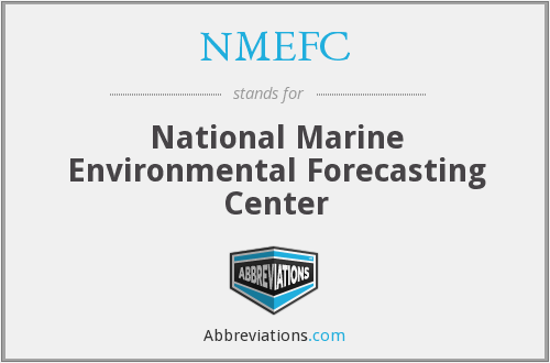 What does NMEFC stand for?