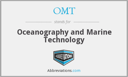 OMT - Oceanography and Marine Technology