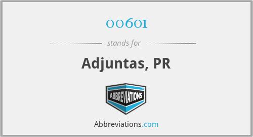 00601 - Adjuntas, PR