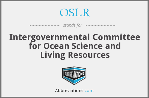What does OSLR stand for?