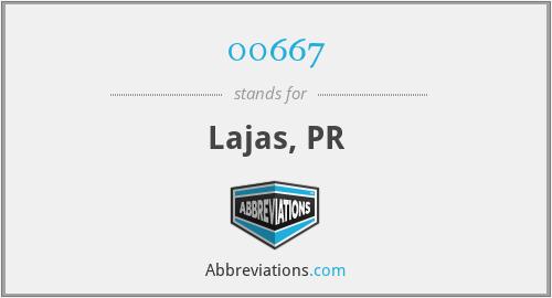 00667 - Lajas, PR