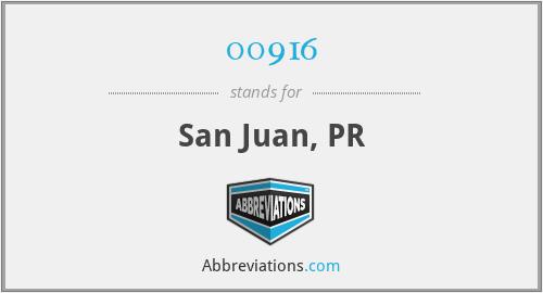 00916 - San Juan, PR