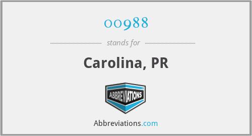 00988 - Carolina, PR