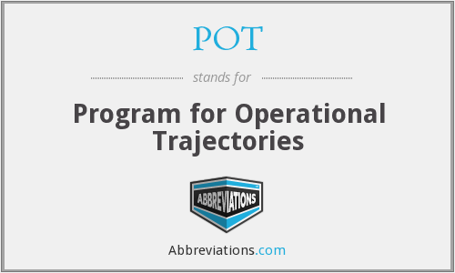 POT - Program for Operational Trajectories