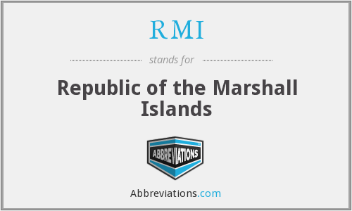 RMI - Republic of the Marshall Islands