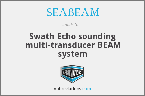 What does SEABEAM stand for?