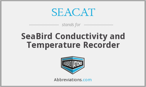 What does SEACAT stand for?