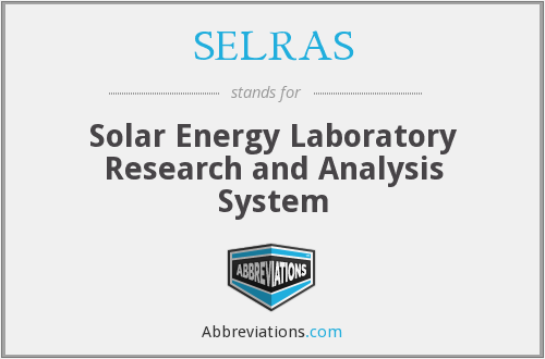 What does SELRAS stand for?