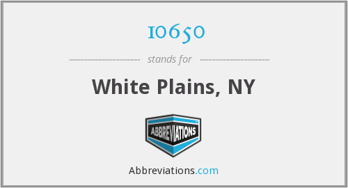 10650 - White Plains, NY