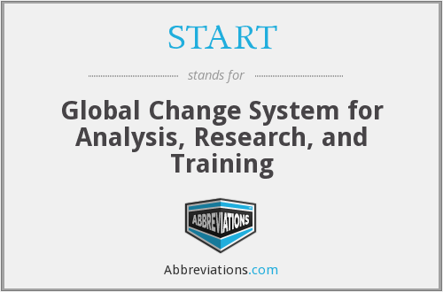 START - Global Change System for Analysis, Research, and Training