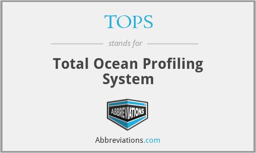 TOPS - Total Ocean Profiling System