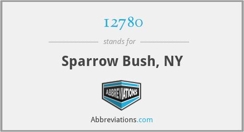 12780 - Sparrow Bush, NY