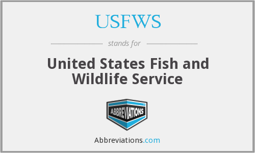 What does usfws stand for sciox Image collections