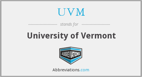 What does UVM stand for?
