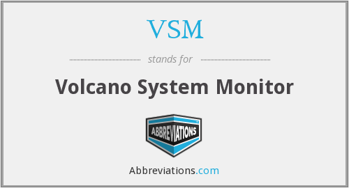 VSM - Volcano System Monitor