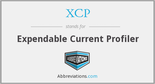 XCP - Expendable Current Profiler