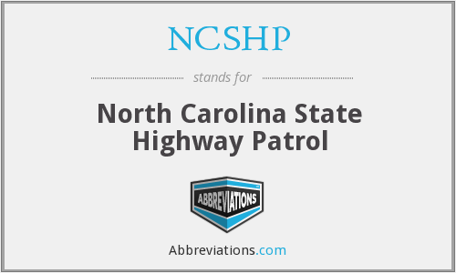 NCSHP - North Carolina State Highway Patrol