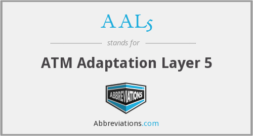 AAL5 - ATM Adaptation Layer 5