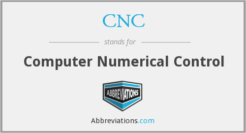 What does C.N.C stand for?