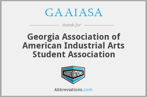 What does GAAIASA stand for?