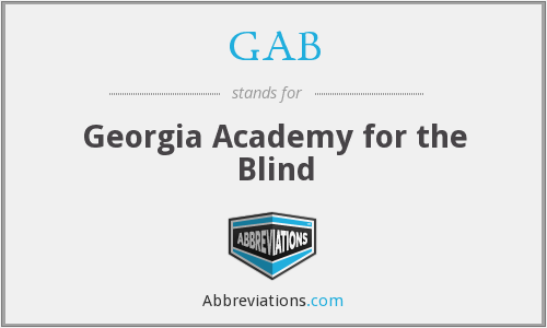 GAB - Georgia Academy for the Blind