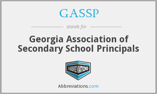 What does GASSP stand for?