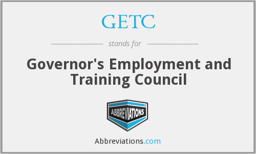 GETC - Governor's Employment and Training Council