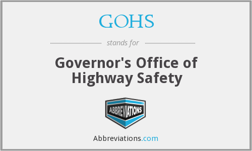 What does GOHS stand for?