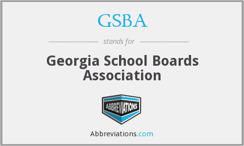 What does GSBA stand for?
