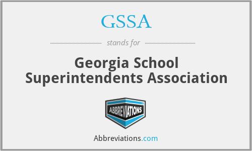 GSSA - Georgia School Superintendents Association