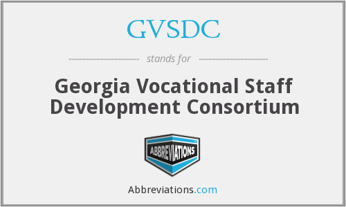 What does GVSDC stand for?
