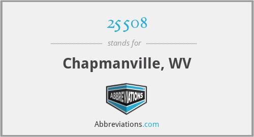 25508 - Chapmanville, WV