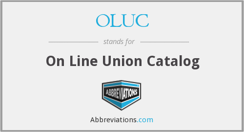 What does OLUC stand for?