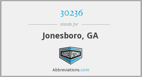 30236 - Jonesboro, GA