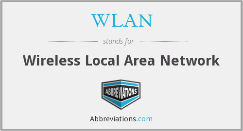 What does WLAN stand for?