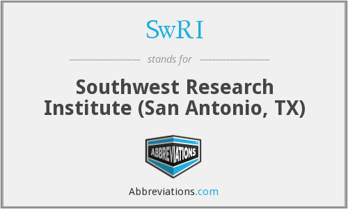 What does SWRI stand for?