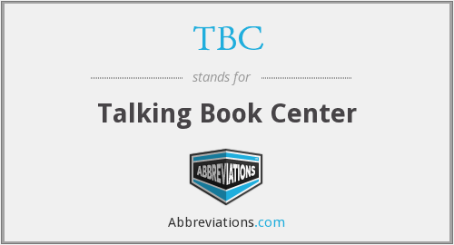 TBC - Talking Book Center