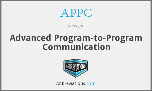What does APPC stand for?