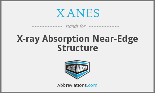 XANES - X-ray Absorption Near-Edge Structure