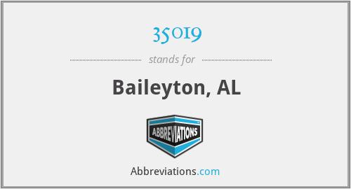 35019 - Baileyton, AL