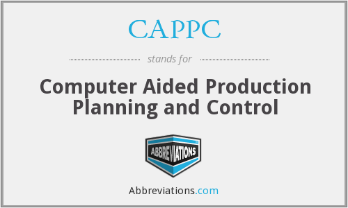 CAPPC - Computer Aided Production Planning and Control