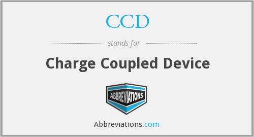 What does CCD stand for?