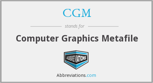 CGM - Computer Graphics Metafile