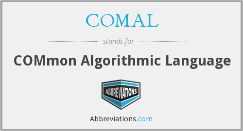 What does COMAL stand for?