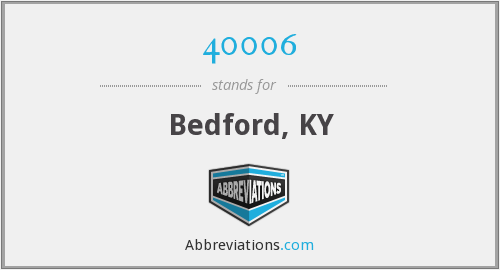 What does 40006 stand for?
