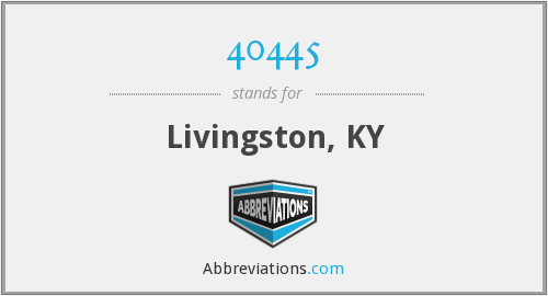 40445 - Livingston, KY