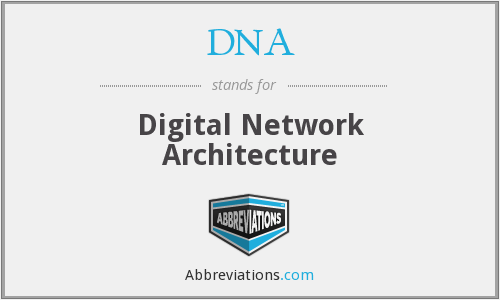 DNA - Digital Network Architecture