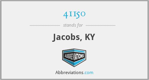 41150 - Jacobs, KY