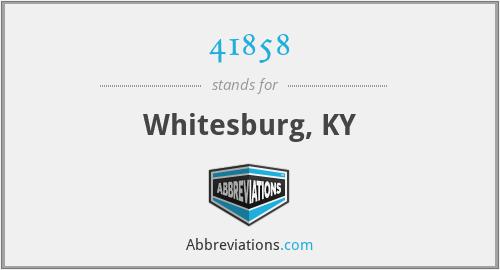 41858 - Whitesburg, KY