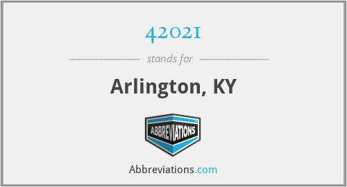 42021 - Arlington, KY